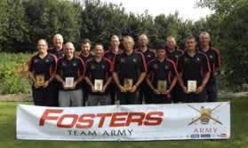 Inter Services Angling 2015 Army winners