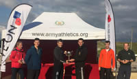 Major Unit Winners of the army cross country inter unit relay Oct 12 2015