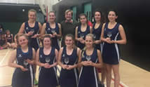 Winners of the first Army Reserves NetballTournament