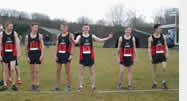 Inter Services Cross Country Team