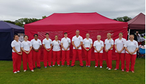 Army Ladies Tug of WAr team represented England