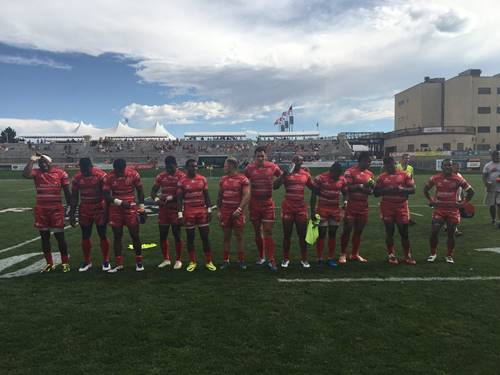Army rugby union won Army Plate in the USA