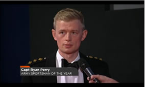 Army sports Man of the year 2015 Capt Ryan Perry Cycling